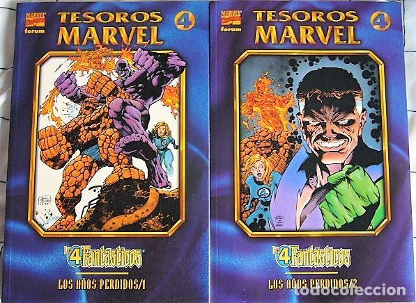 LOS 4 FANTÁSTICOS - TESOROS MARVEL (Tebeos y Comics - Forum - 4 Fantásticos)