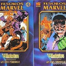 Cómics: LOS 4 FANTÁSTICOS - TESOROS MARVEL. Lote 117238963