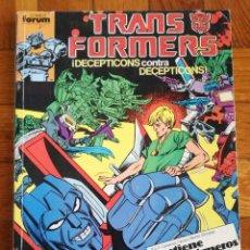 Cómics: TRANSFORMERS 1 TOMO QUE CONTIENE CINCO NUMEROS: 41-42-43-44-45- COMICS FORUM 1989. Lote 117261899