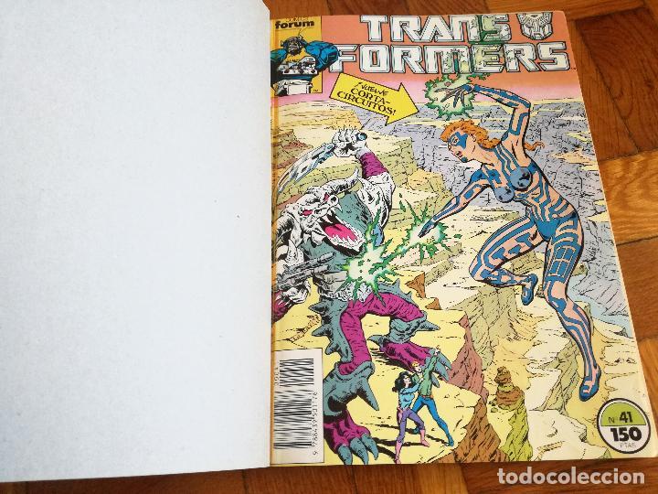 Cómics: TRANSFORMERS 1 TOMO QUE CONTIENE CINCO NUMEROS: 41-42-43-44-45- COMICS FORUM 1989 - Foto 2 - 117261899