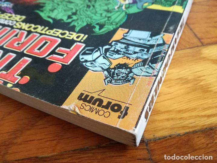 Cómics: TRANSFORMERS 1 TOMO QUE CONTIENE CINCO NUMEROS: 41-42-43-44-45- COMICS FORUM 1989 - Foto 9 - 117261899