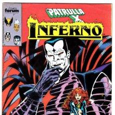 Cómics: INFERNO N° 1 FORUM MARVEL PATRULLA X . Lote 117309311