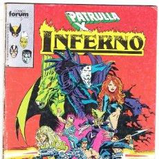 Cómics: INFERNO N° 5 FORUM MARVEL PATRULLA X . Lote 117309367