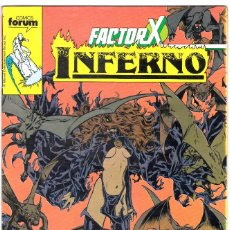 Cómics: FACTOR X INFERNO FORUM Nº 18.. Lote 117313771