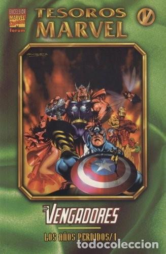 TESOROS MARVEL #5 LOS VENGADORES: LOS AÑOS PERDIDOS 1 (Tebeos y Comics - Forum - Vengadores)