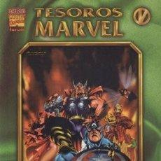 Cómics: TESOROS MARVEL #5 LOS VENGADORES: LOS AÑOS PERDIDOS 1. Lote 117461195
