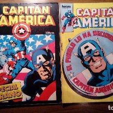 Cómics: CAPITAN AMERICA Nº 12 Y CAPITAN AMERICA ESPECIAL VERANO 1987. COMICS FORUM.. Lote 117471023