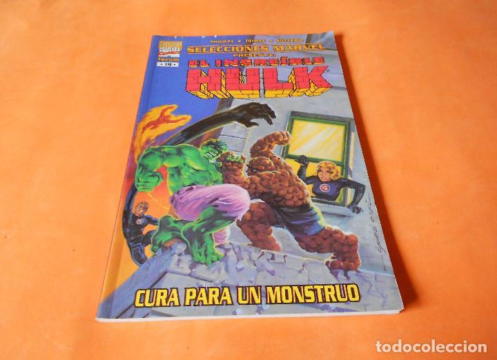 HULK. CURA PARA UN MONSTRUO. SELECCIONES MARVEL 19. RUSTICA. (Tebeos y Comics - Forum - Hulk)