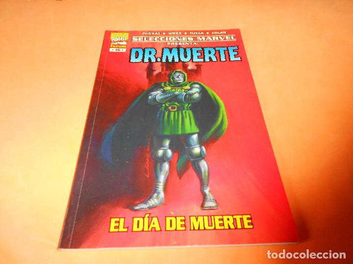 SELECCIONES MARVEL 16: DR. MUERTE. EL DÍA DE MUERTE, 2001, MUY BUEN ESTADO. (Tebeos y Comics - Forum - Otros Forum)