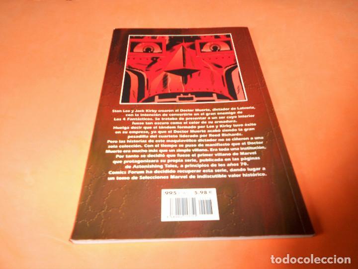 Cómics: SELECCIONES MARVEL 16: DR. MUERTE. EL DÍA DE MUERTE, 2001, muy buen estado. - Foto 2 - 117564671