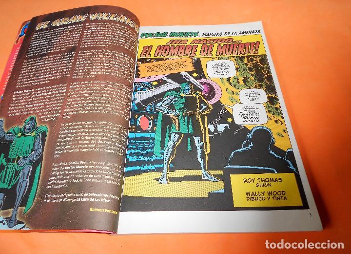 Cómics: SELECCIONES MARVEL 16: DR. MUERTE. EL DÍA DE MUERTE, 2001, muy buen estado. - Foto 3 - 117564671