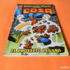 Cómics: SELECCIONES MARVEL. Nº 1 LA COSA: EL PROYECTO PEGASO. FÓRUM. BUEN ESTADO.. Lote 117566735