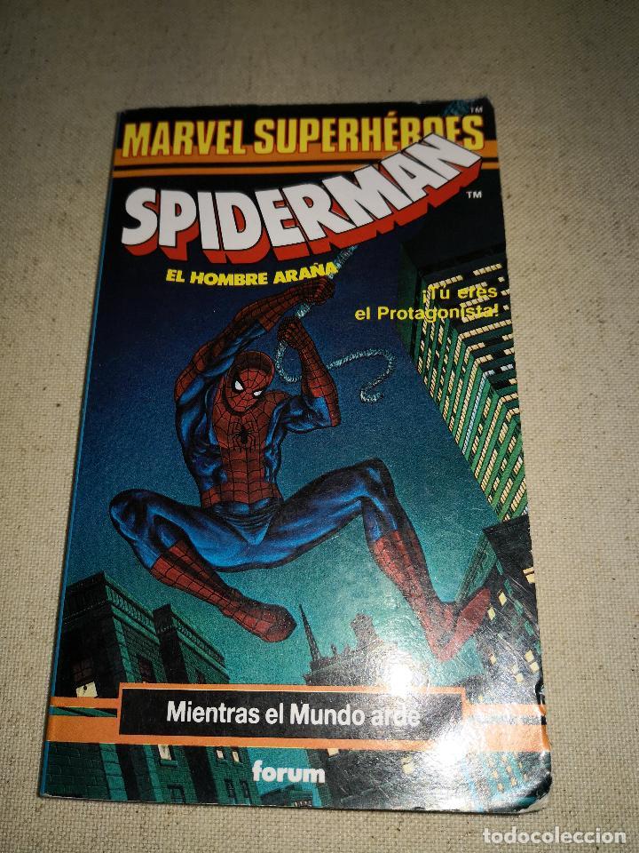 Cómics: Colección Marvel 8 numeros marvel elige tu propia aventura, Librojuego, Spiderman, Daredevil, Lobezn - Foto 2 - 117679783