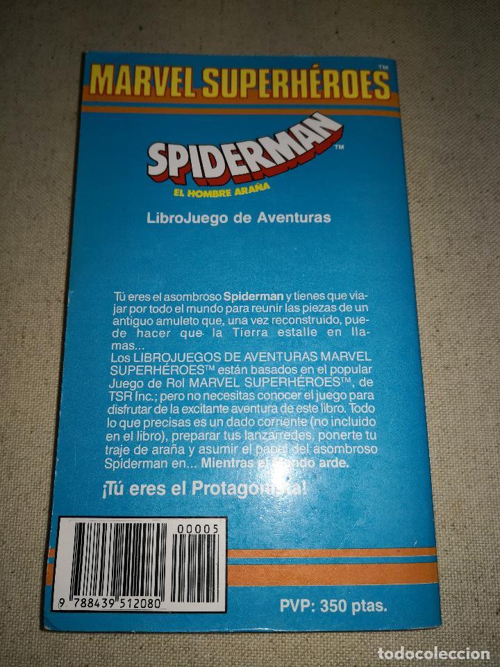 Cómics: Colección Marvel 8 numeros marvel elige tu propia aventura, Librojuego, Spiderman, Daredevil, Lobezn - Foto 3 - 117679783