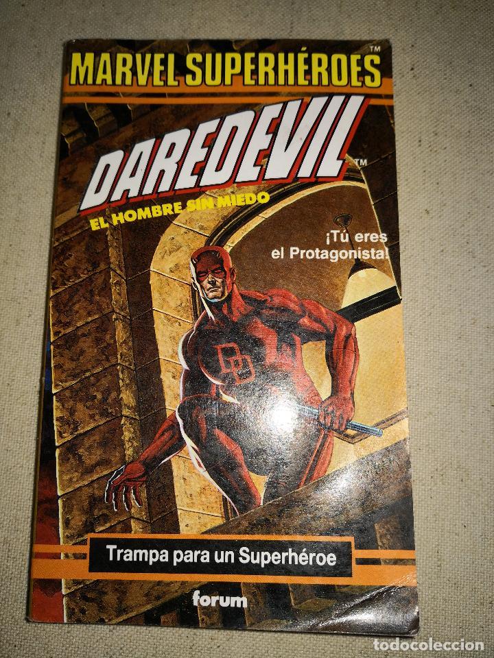 Cómics: Colección Marvel 8 numeros marvel elige tu propia aventura, Librojuego, Spiderman, Daredevil, Lobezn - Foto 8 - 117679783