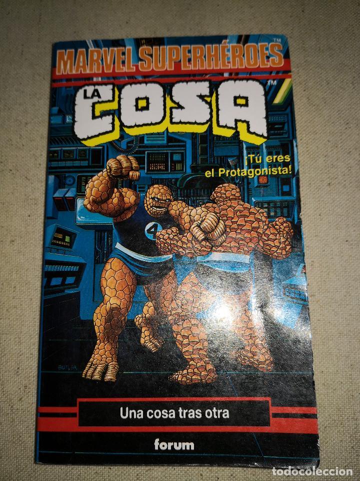 Cómics: Colección Marvel 8 numeros marvel elige tu propia aventura, Librojuego, Spiderman, Daredevil, Lobezn - Foto 14 - 117679783