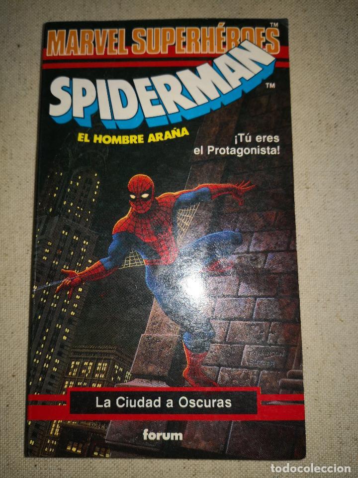 Cómics: Colección Marvel 8 numeros marvel elige tu propia aventura, Librojuego, Spiderman, Daredevil, Lobezn - Foto 17 - 117679783