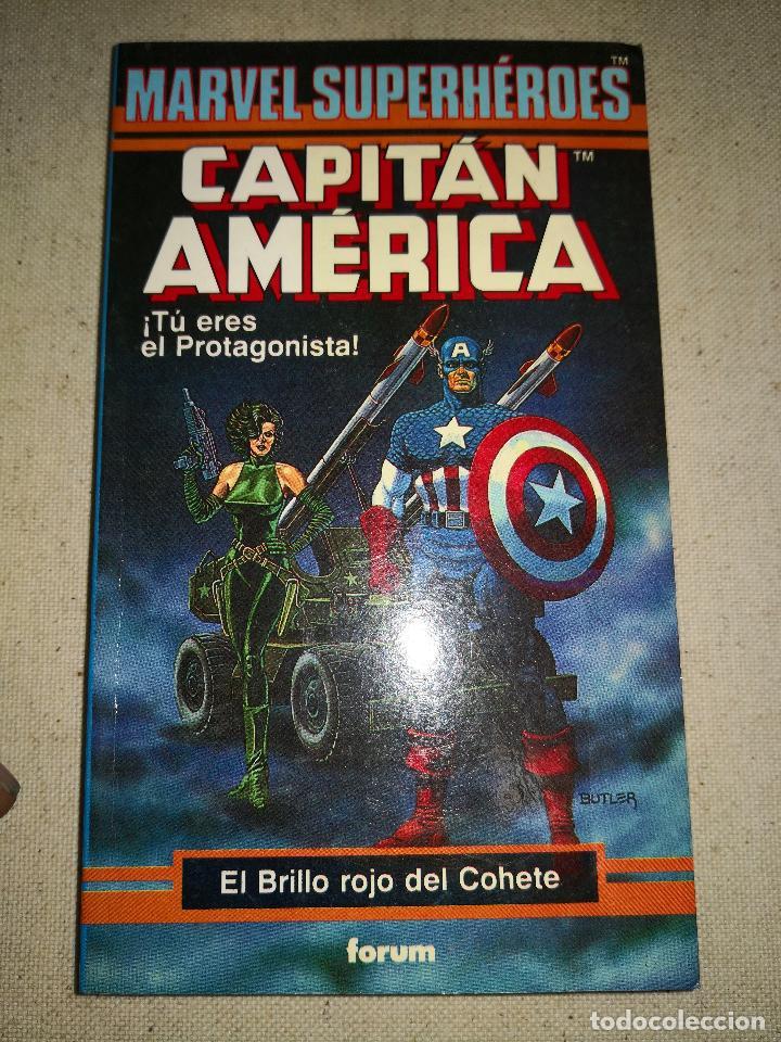 Cómics: Colección Marvel 8 numeros marvel elige tu propia aventura, Librojuego, Spiderman, Daredevil, Lobezn - Foto 23 - 117679783
