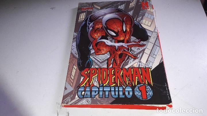 MARVEL CÓMICS.. CARPETA..SPIDER-MAN..CAPÍTULO 1....MARCA... (Tebeos y Comics - Forum - Spiderman)