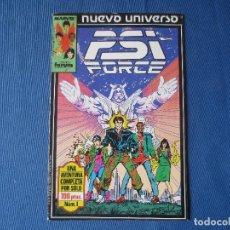 Cómics: PSI FORCE N.º 1 - NUEVO UNIVERSO MARVEL - FORUM 1988. Lote 117799539