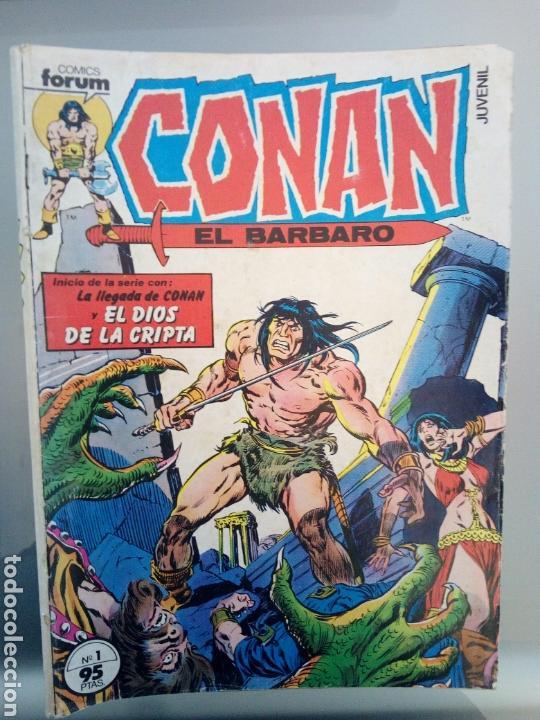 Conan el barbaro lote de 11 comics numeros 1, 2 - Sold at