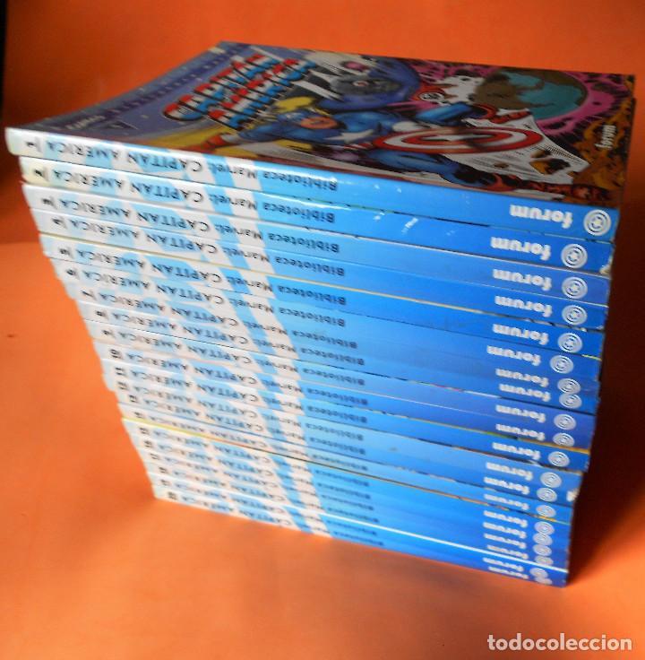 Cómics: CAPITAN AMERICA. BIBLIOTECA MARVEL. 20 NUMEROS. COMPLETA. Y EL Nº 0. MUY BUEN ESTADO. - Foto 2 - 117909491