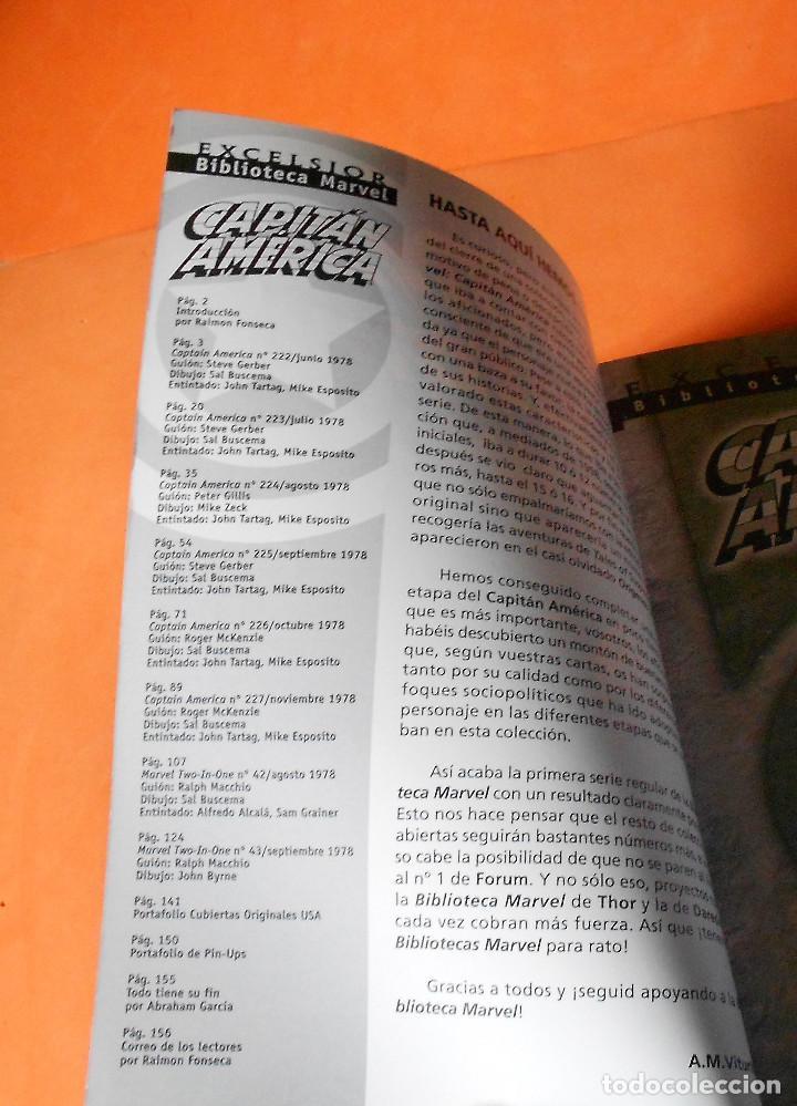 Cómics: CAPITAN AMERICA. BIBLIOTECA MARVEL. 20 NUMEROS. COMPLETA. Y EL Nº 0. MUY BUEN ESTADO. - Foto 4 - 117909491