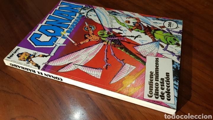 CONAN MUY BUEN ESTADO 56 AL 60 TOMO RETAPADO FORUM (Tebeos y Comics - Forum - Retapados)
