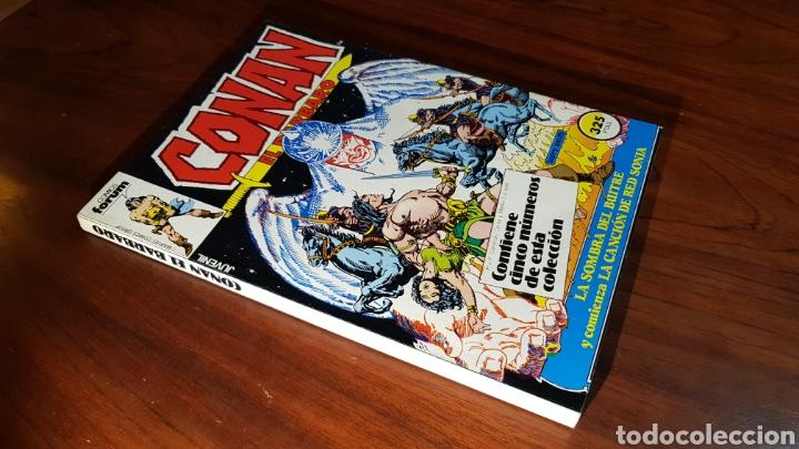 CONAN EXCELENTE ESTADO 76 AL 80 TOMO RETAPADO FORUM (Tebeos y Comics - Forum - Retapados)