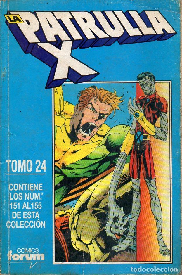 PATRULLA X NÚMS. 151 A 155 - TOMO 24 RETAPADO (Tebeos y Comics - Forum - Patrulla X)
