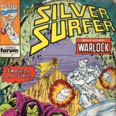 Cómics: SILVER SURFER Nº 9. Lote 117992827
