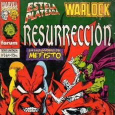 Cómics: ESTELA PLATEADA WARLOCK RESURRECCIÓN Nº 3. Lote 117993175