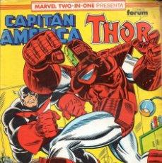 Cómics: CAPITÁN AMÉRICA Y THOR Nº 76. Lote 117993331