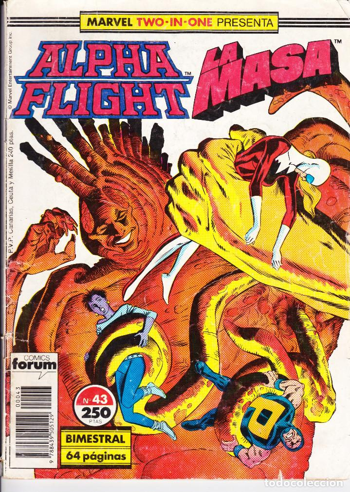 ALPHA FLIGHT Nº 43 LA MASA 1989 (Tebeos y Comics - Forum - Alpha Flight)