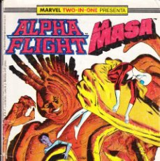 Cómics: ALPHA FLIGHT Nº 43 LA MASA 1989. Lote 118010979