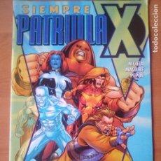 Cómics: SIEMPRE PATRULLA X. 1. FORUM. Lote 118075679