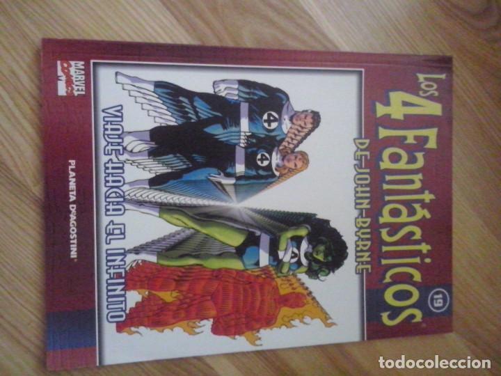 COMIC PLANETA FORUM MARVEL COLECCIONABLE LOS 4 FANTASTICOS JOHN BYRNE Nº 19 (Tebeos y Comics - Forum - 4 Fantásticos)