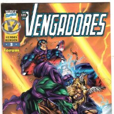 Cómics: HÉROES REBORN - LOS VENGADORES VOL.1 Nº 3 - FORUM . Lote 118116815