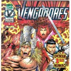 Cómics: HÉROES REBORN - LOS VENGADORES VOL.1 Nº 1 - FORUM . Lote 118116843