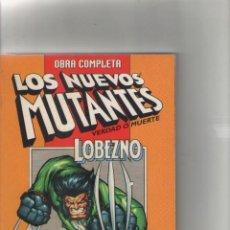Cómics: RETAPADO-2 SERIES COMPLETAS-FORUM-AÑO 1997-COLOR-NUEVOS MUTANTES-LOBEZNO. Lote 118196395