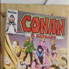 Cómics: CONAN EL BARBARO -(CONTIENE CINCO NÚMEROS DE ESTA COLECCIÓN, DEL NÚMERO 51 AL 55 (AMBOS INCLUSIVE). Lote 118290723