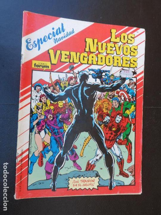 LOS NUEVOS VENGADORES ESPECIAL NAVIDAD 1987 EDICIONES FORUM (Tebeos y Comics - Forum - Vengadores)