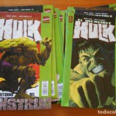 Cómics: EL INCREIBLE HULK - VOLUMEN 2 - COMPLETA - NUMEROS 1 A 13 - MARVEL - FORUM (AR). Lote 118340011
