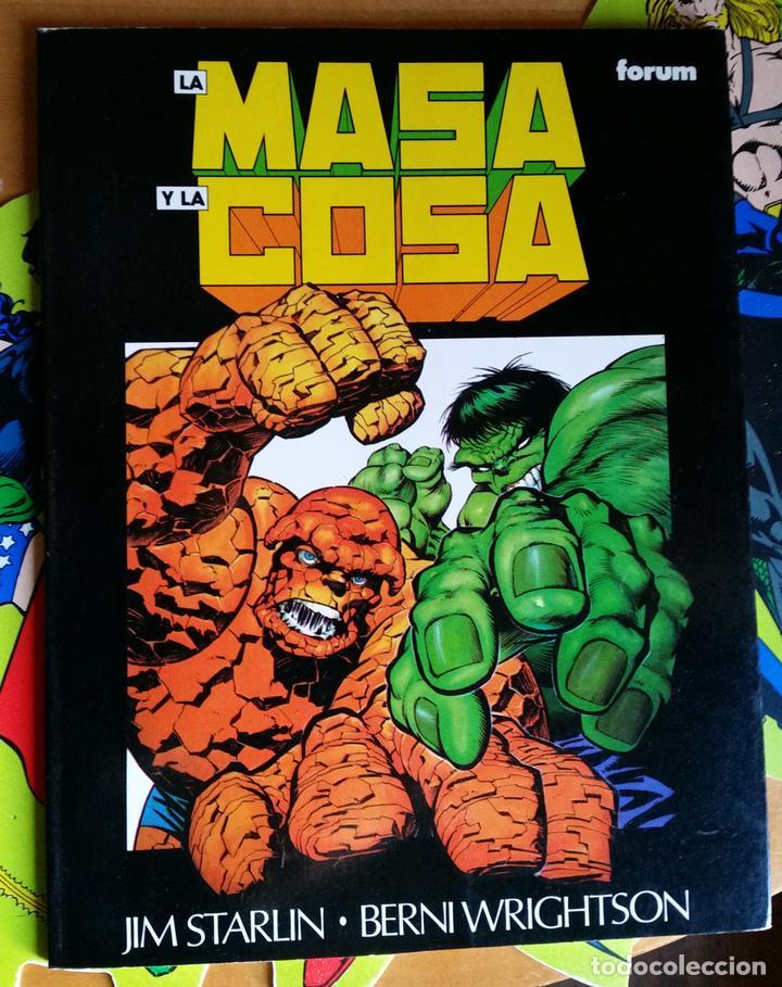 LA MASA Y LA COSA. EL GRAN CAMBIO POR JIM STARLIN Y BERNI WRIGHTWSON (Tebeos y Comics - Forum - Prestiges y Tomos)