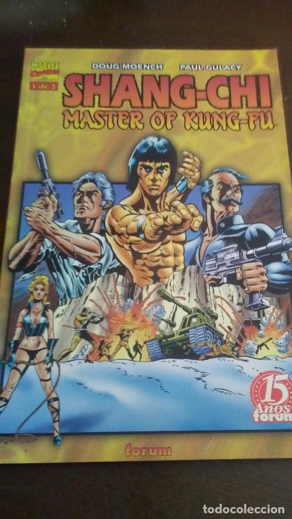SHANG-CHI MASTER OF KUNG-FU 1 DE 3 (Tebeos y Comics - Forum - Prestiges y Tomos)