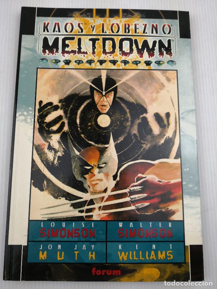 KAOS Y LOBEZNO MELTDOWN MUY BUEN ESTADO (Tebeos y Comics - Forum - X-Men)