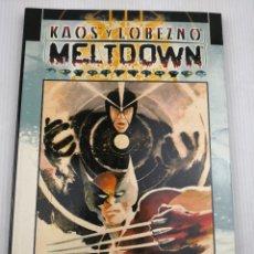 Cómics: KAOS Y LOBEZNO MELTDOWN MUY BUEN ESTADO. Lote 118495643