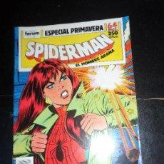 Cómics: SPIDERMAN EL HOMBRE ARAÑA ESPECIAL PRIMAVERA EDICIONES FORUM, . Lote 118806711