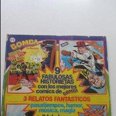 Cómics: BOMBA Nº 2 ESPECIAL 144 PAGINAS HISTORIETAS DE ACCION COMPLETAS SDX11. Lote 118897587