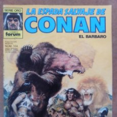 Cómics: LA ESPADA SALVAJE DE CONAN VOL. 1 1ª EDICION Nº 104 - FORUM - C22. Lote 211428869